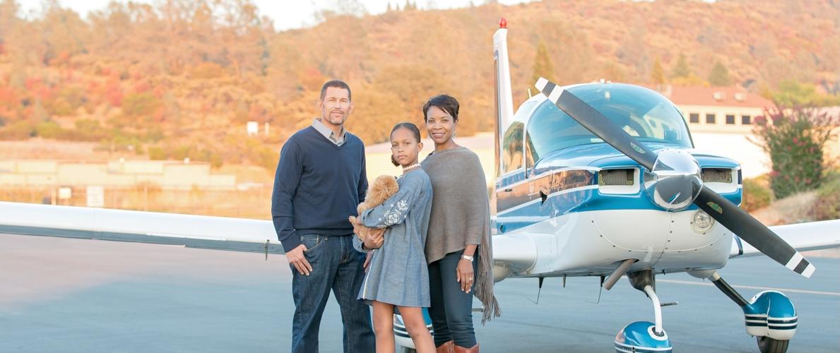 Baysinger Family Portrait—Gold River, CA