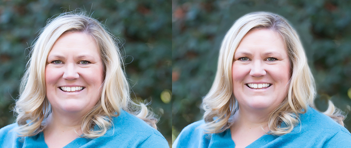 Headshot Photo Before-And-After: It's Like Magic!